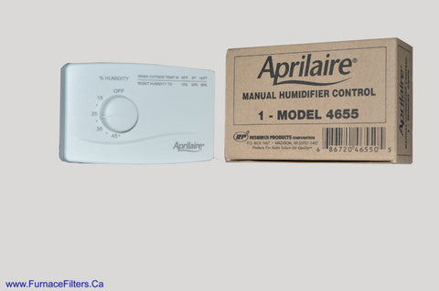 Aprilaire Manual Humidistat 4655