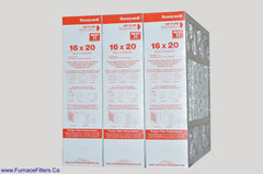 Honeywell 16 x 20 Part # FC100A1003 MERV 11. Package of 3