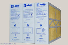 "CARRIER 16x25 Old/Defective Electronic Air Cleaner to Filter Size 15 3/8"" x 25 1/2"" x 5 1/4"". Case of 3."