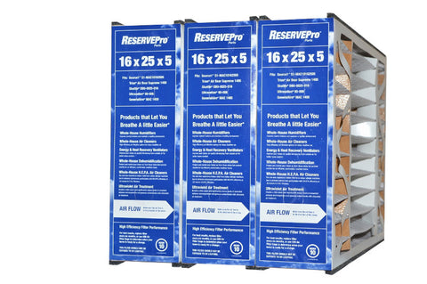 "Sears / Kenmore Part # GF 4511 Replacement Filter 16x25, Actual Size 15 5/8"" X 24 3/16"" X 4 15/16"". Package of 3"
