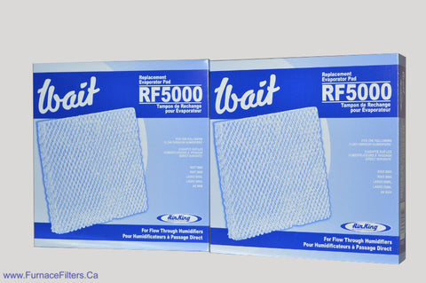 Wait RF 5000 Replacement Evaporator Pad for Model 5000 & 6000 Flow Through Humidifier. Pkg. of 2