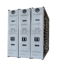 "Lennox X1152 Furnace Filter 20x25x5 Healthy Climate MERV 11 With Foam Strips. Actual Size 19 5/8"" x 24 3/16"" x 4 15/16"" Package of 3"