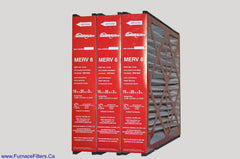 GENERALAIRE PART # GFI 4521 or 14164 Mac 1200, Genuine 16x25x3 MERV 8. Package of 3.