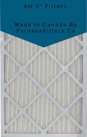 28x30x1 MERV 8 Custom Sized Pleated Filters. Case of 6.