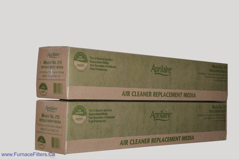 APRILAIRE Genuine MODEL No. 213 Replacement Media. Package of 2