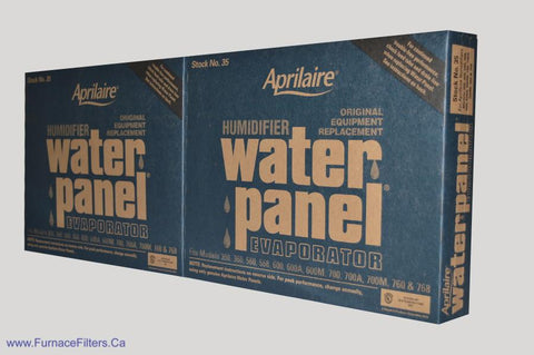 APRILAIRE Humidifier Part No. 35. Fits Model #'s 600, 600A, 700 700A, 360, 560, 560A 568. Package of 2