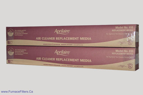 410 Aprilaire Replacement Filter. Package of 2