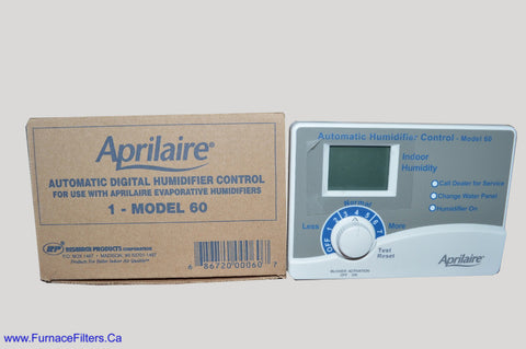 Aprilaire 60 Automatic Digital Humidifier Control, Model 60