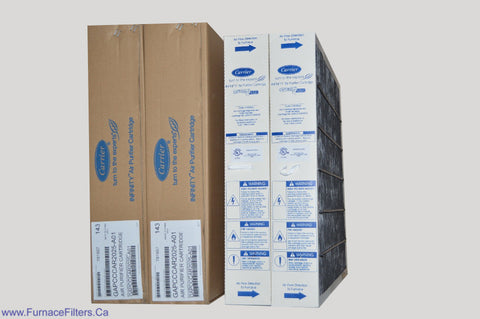 CARRIER Genuine Part No. GAPCCCAR2025. MERV 15. Package of 2