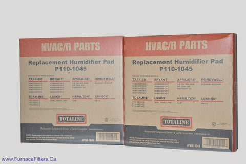 Carrier Humidifier Pad Part # P110-1045. Package of 2