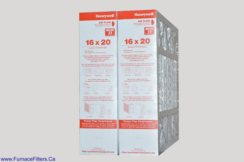 Honeywell 16 x 20 Part # FC100A1003 MERV 11. Package of 2