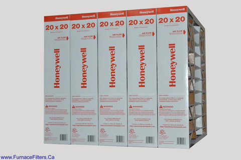 Honeywell Model # FC100A1011 Genuine 20x20x5 MERV 11. Package of 5