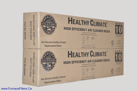 LENNOX/HEALTHY CLIMATE Part No. X0444 MERV 10 for PMAC-12C. Package of 2