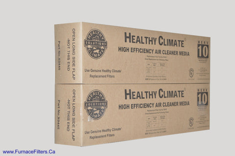 LENNOX/HEALTHY CLIMATE Part No. X0445 MERV 10 for PMAC-20C. Package of 2