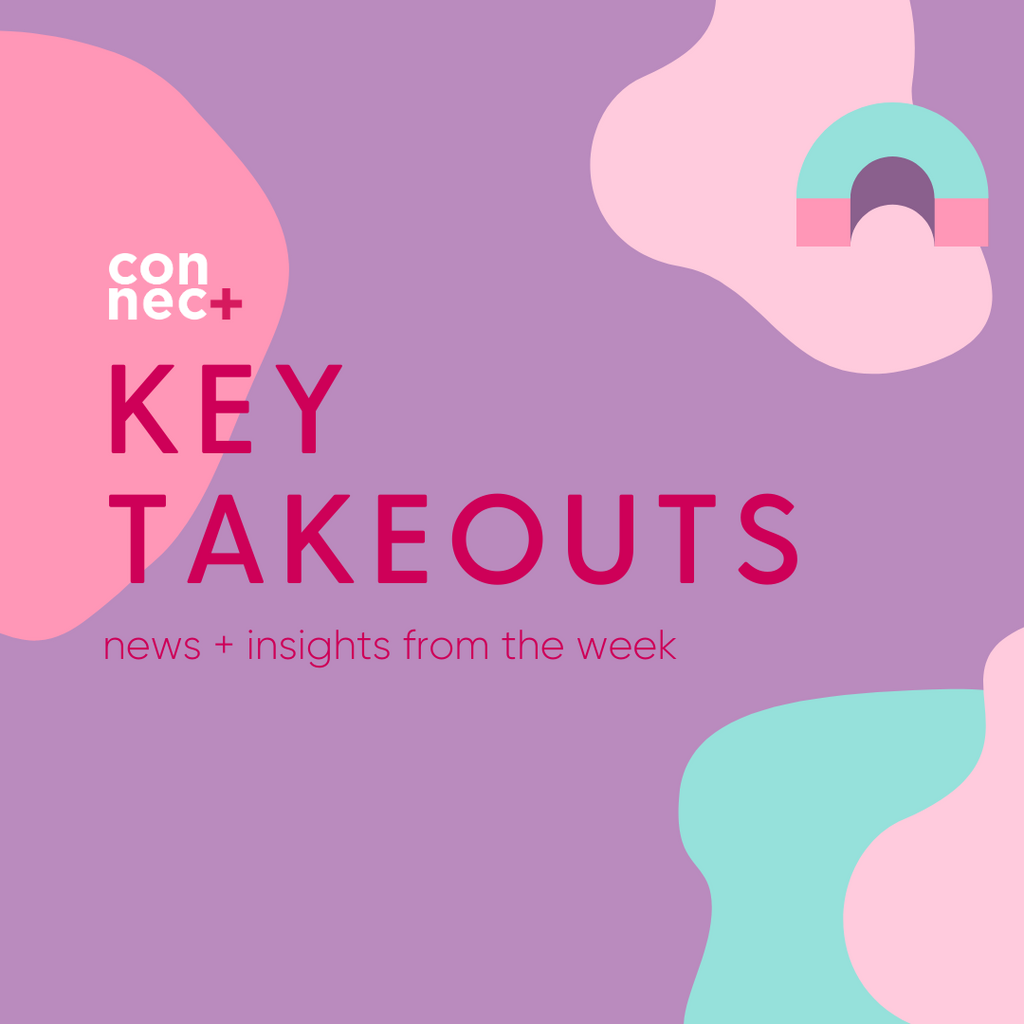 Takeouts For The Week - 24 April 2021