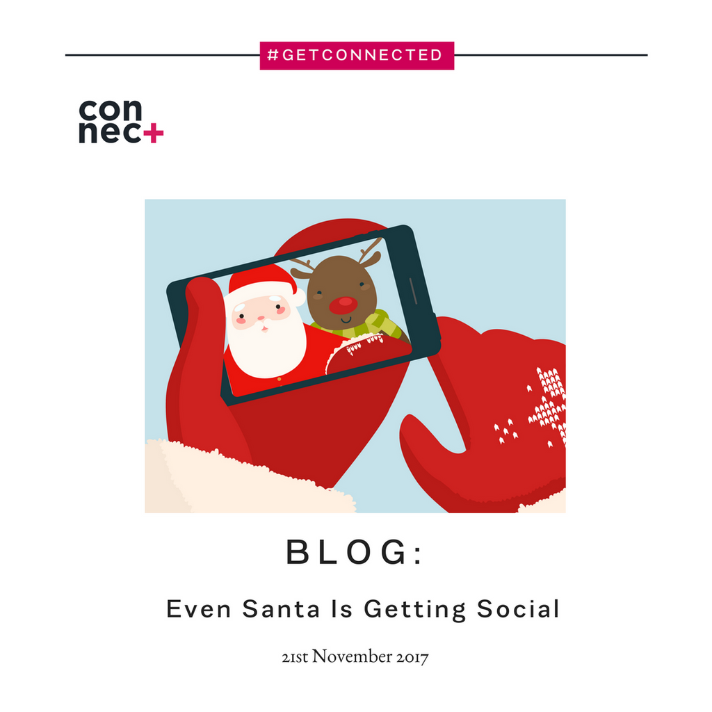 Even Santa Is Getting Social