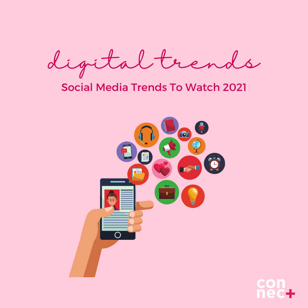 Social Media Trends to watch 2021