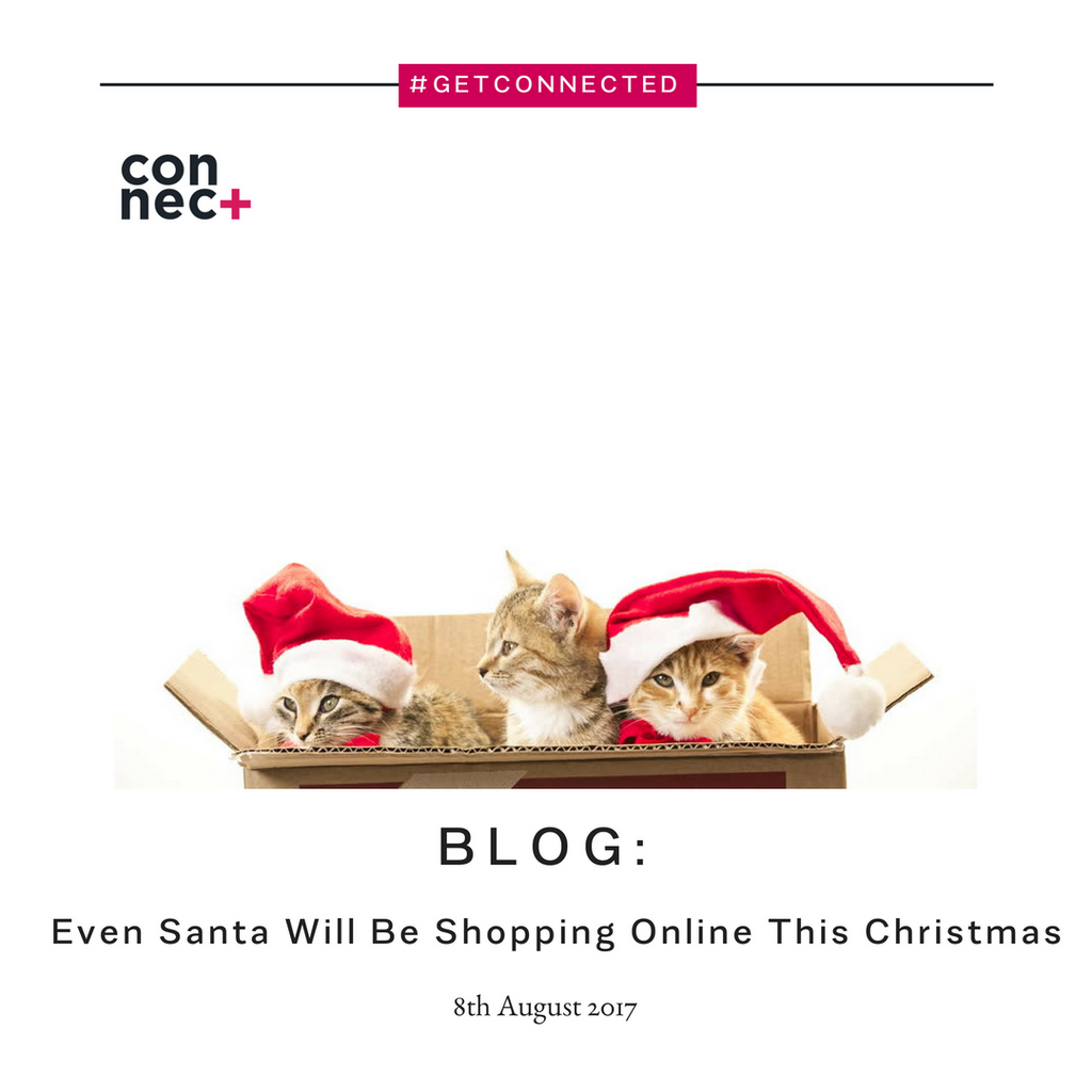 Even Santa Will Be Shopping Online This Christmas