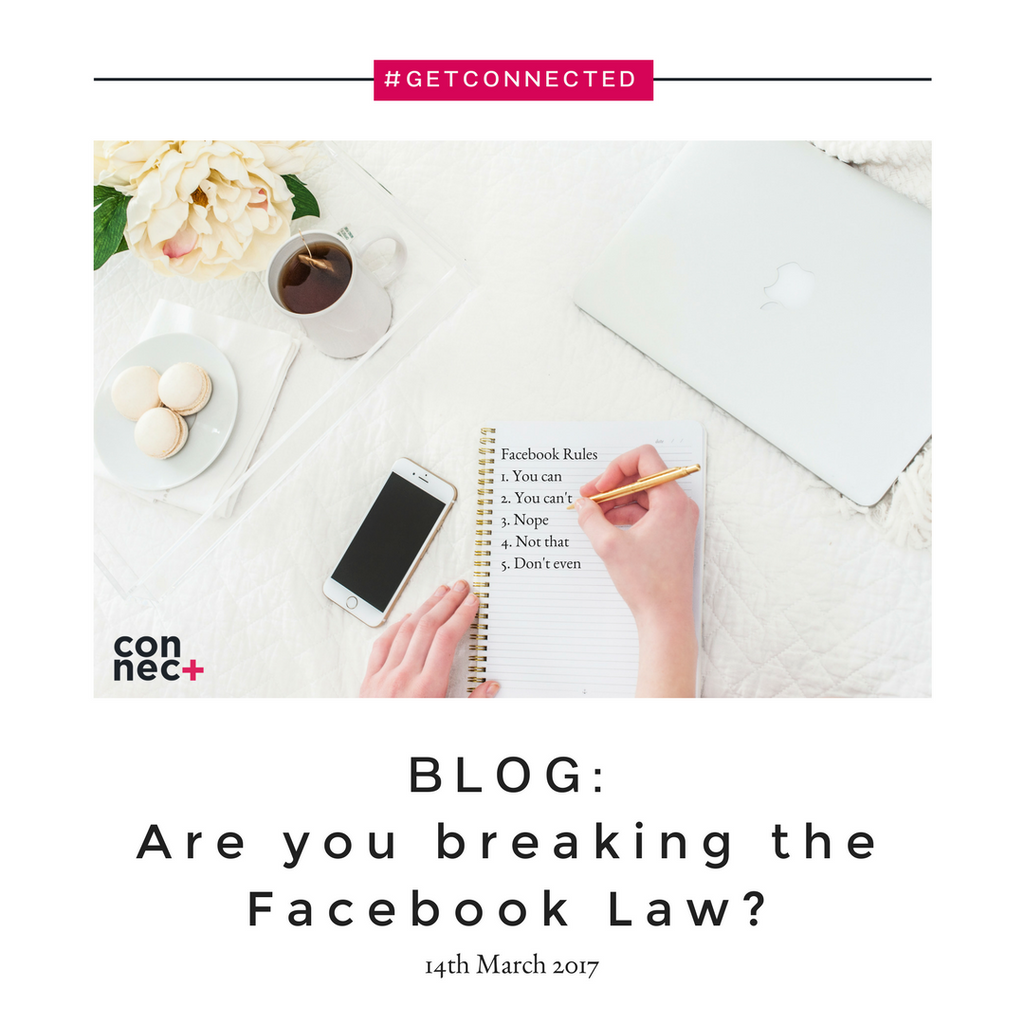 Are you breaking the Facebook Law?