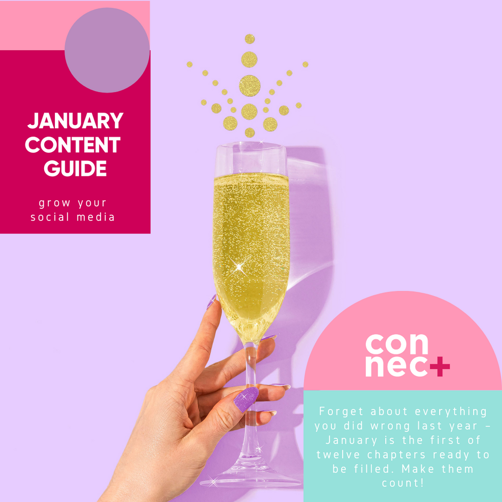 Content Ideas To Grow Your Social This January
