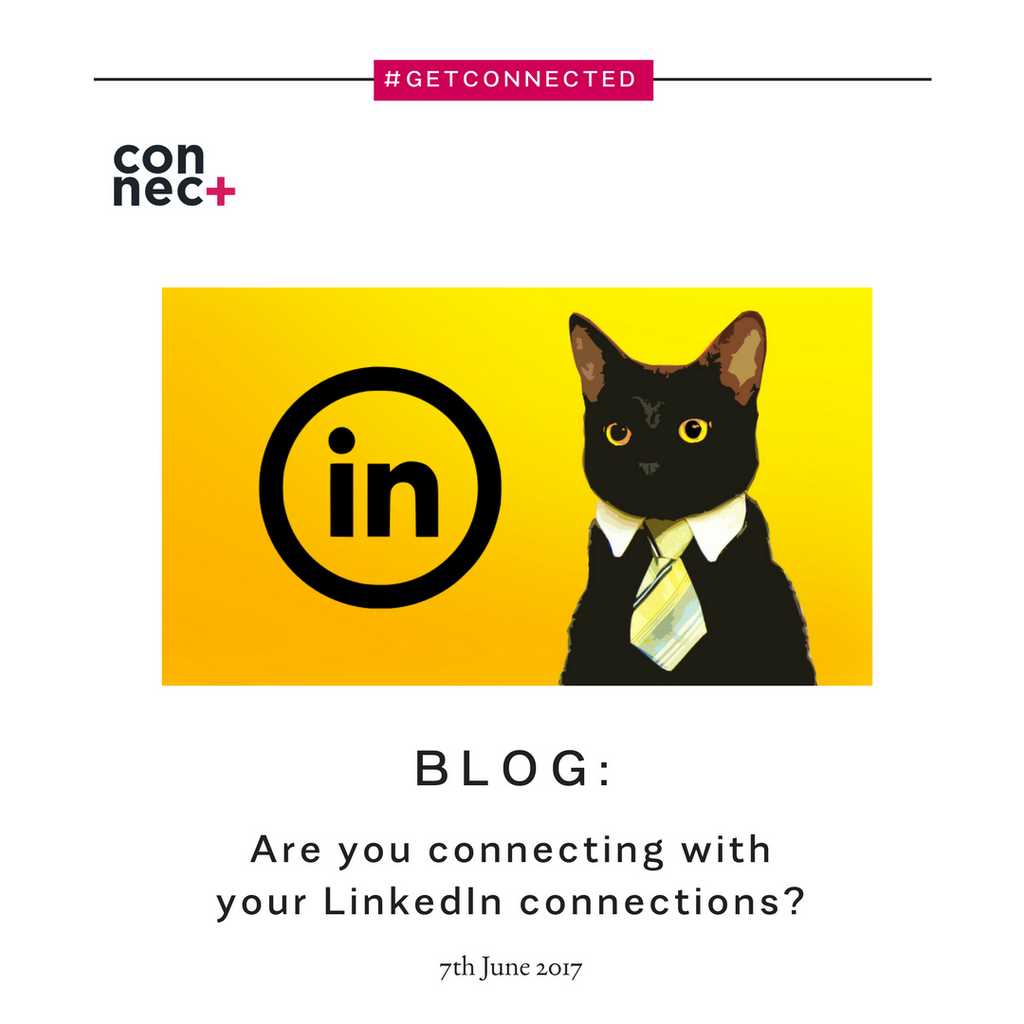 Are you connecting with your LinkedIn connections?