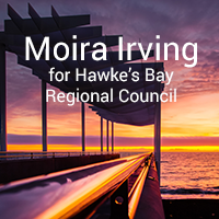 Moira Irving for Hawke's Bay Regional Council