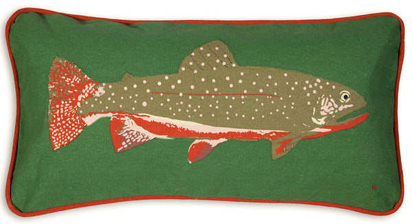 Canvas Pillow - Trout