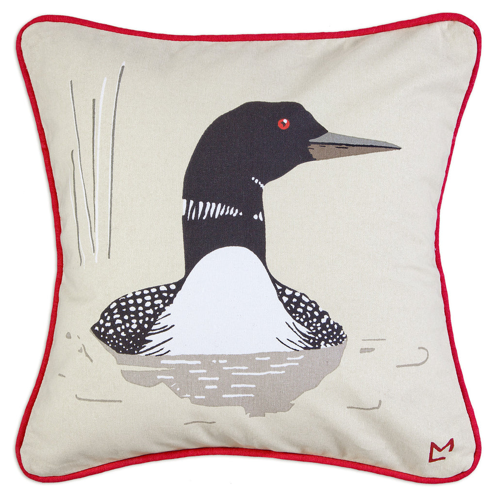 Canvas Pillow - Summer Loon