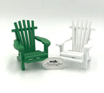 Miniature Adirondack Chair - Green