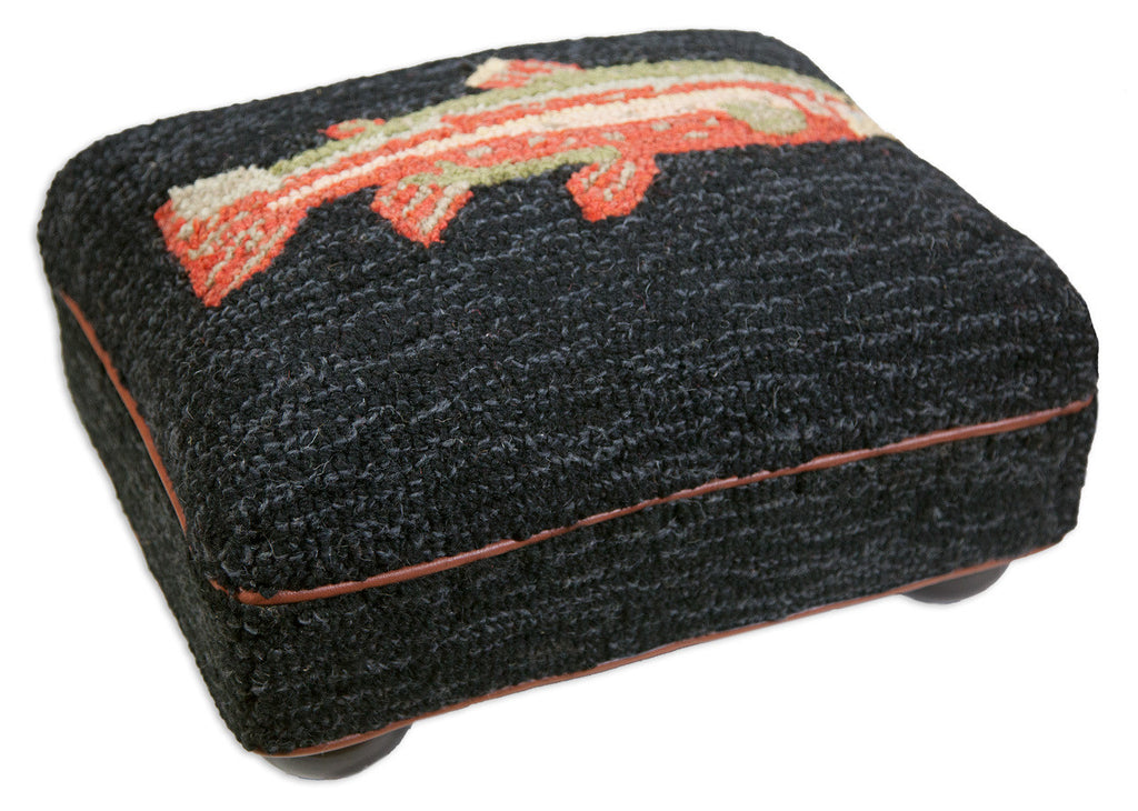 Riverfish Hooked Top Footstool