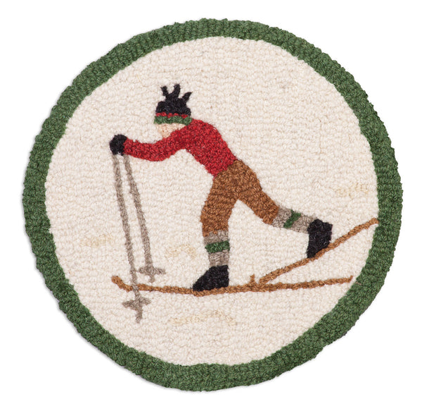 "Chair Pad 14""  - Cross Country Skier"