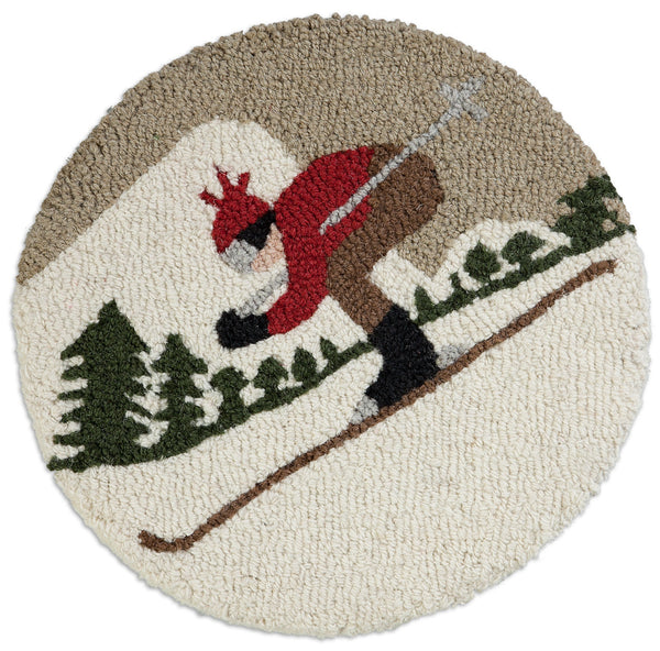 "Chair Pad 14""  - Downhill Skier"