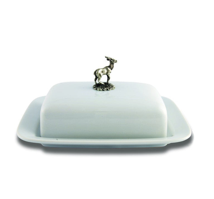 Vagabond House Butter Dish Stag