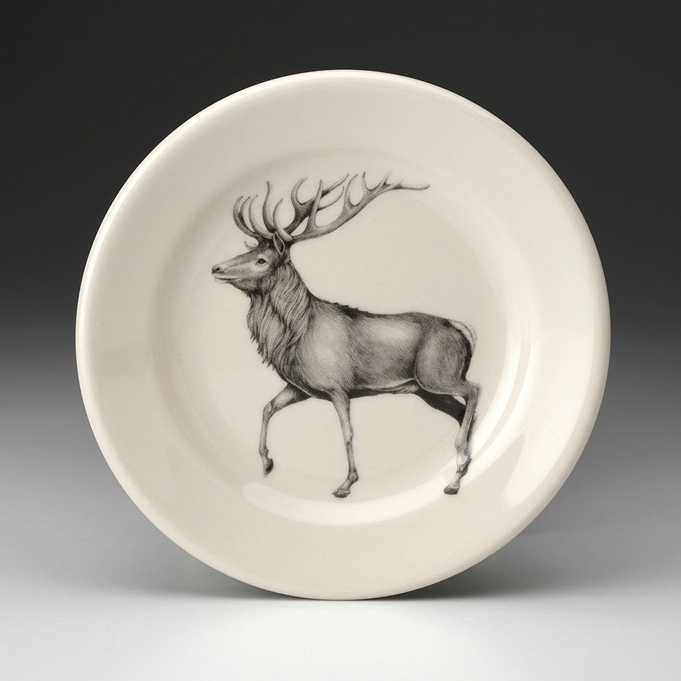 Laura Zindel Design - Salad Plate Fallow Red Buck