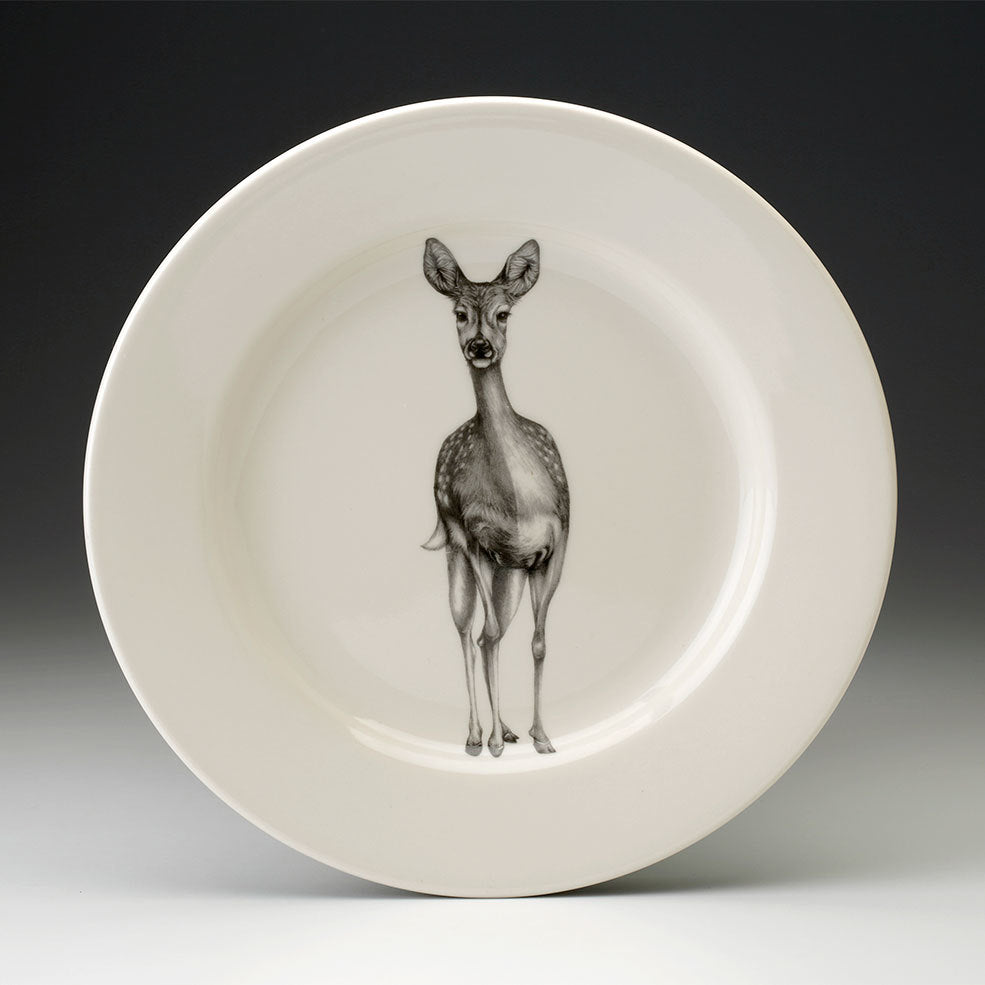 Laura Zindel Design - Dinner Plate Fallow Doe