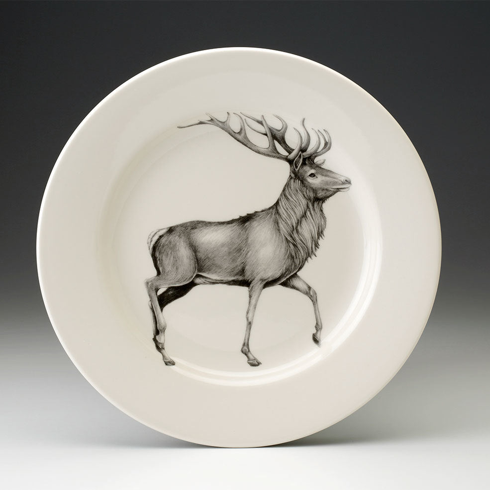 Laura Zindel Design - Dinner Plate Red Buck