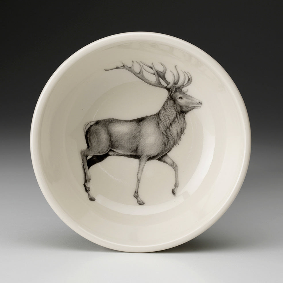 Laura Zindel Design - Cereal Bowl Red Buck