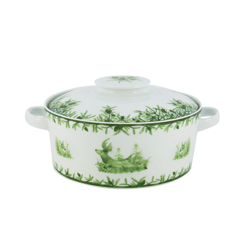 "CE Corey - Forest Serving Bowl 10""Covered Casserole"