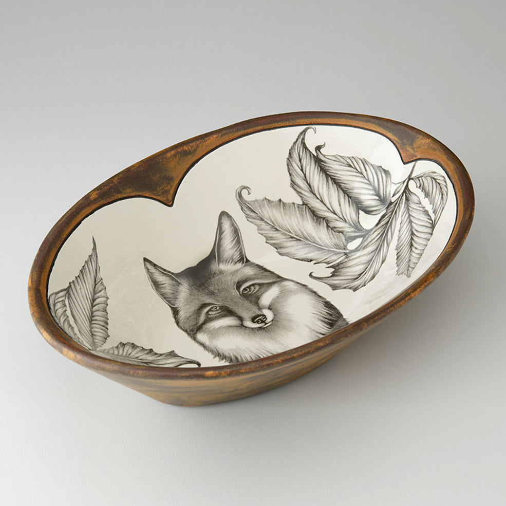 Laura Zindel Design - Large Serving Dish Fox