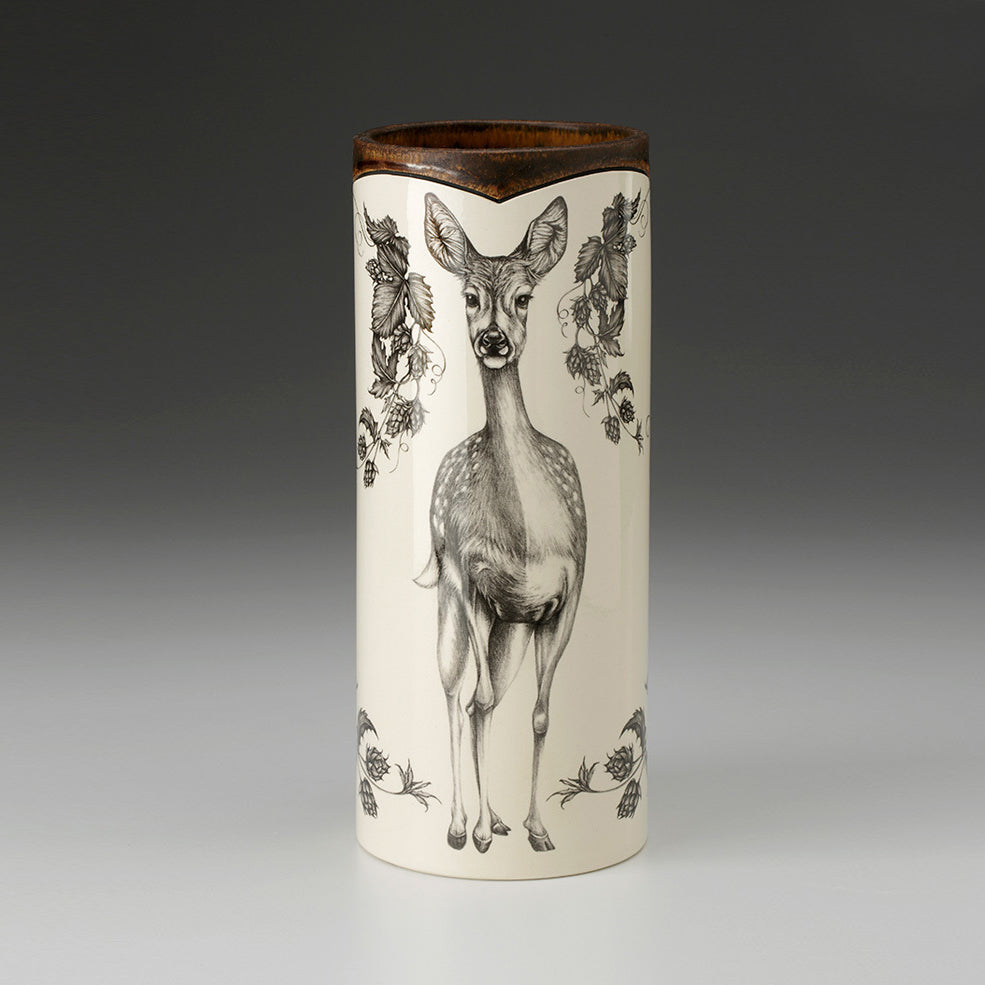 Laura Zindel Design - Large Vase Fallow Doe