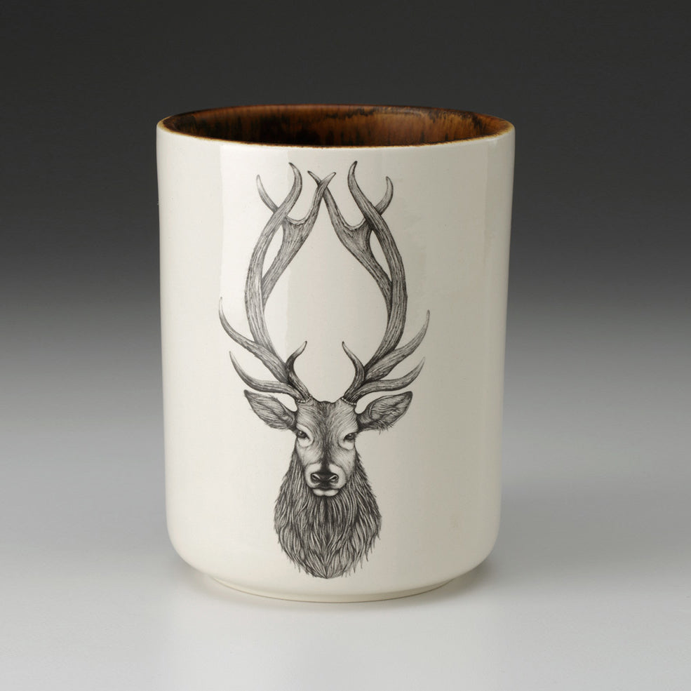 Laura Zindel Design - Utensil Cup Red Stag
