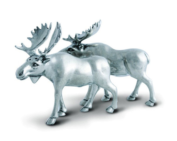 Vagabond House Moose Salt & Pepper Set