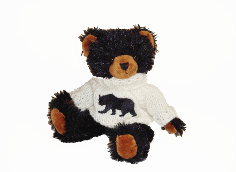 Sweater Bear Stuffed Toy