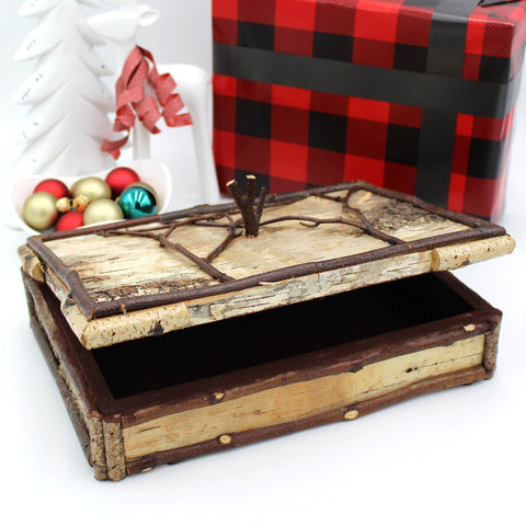 Handcrafted Birch Box - Large