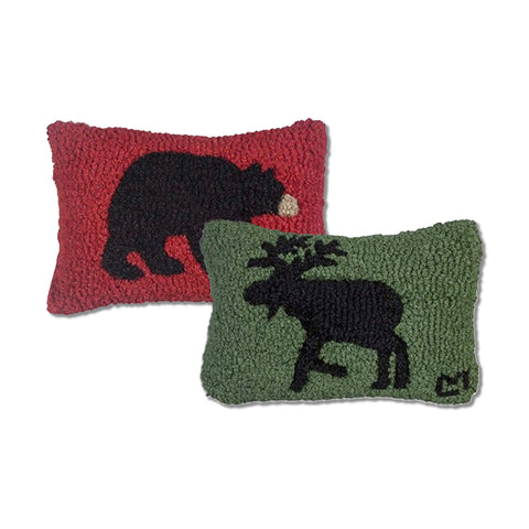Mini Bear and Moose Pillows