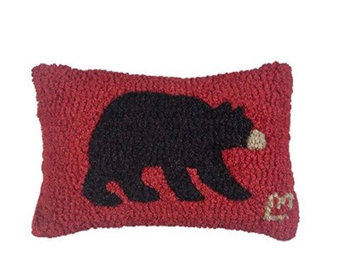Pillow 8x12 Black Bear