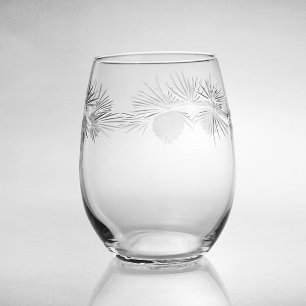Rolf Glass - Icy Pine 17 oz Stemless Tumbler