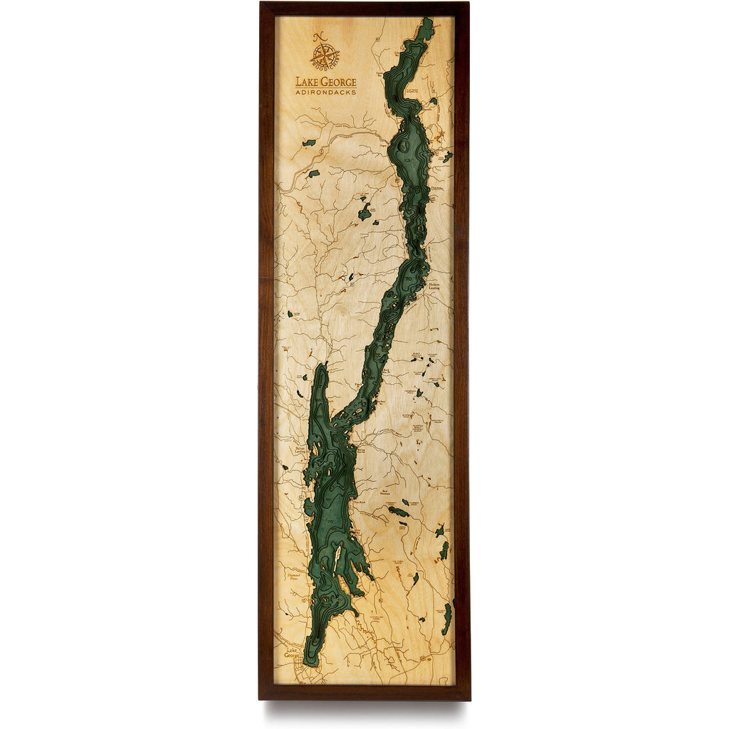 WoodChart - Lake George Nautical Chart