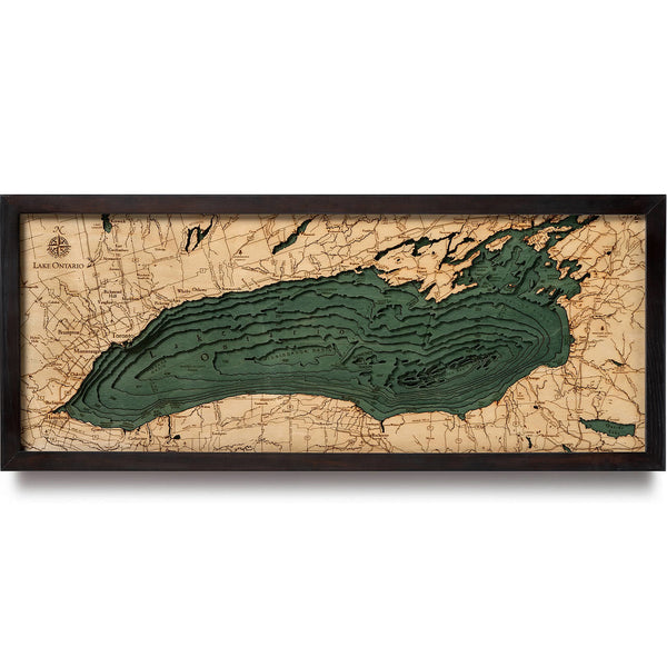 WoodChart - Lake Ontario Nautical Chart