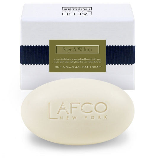 Lafco Sage & Walnut Bath Soap